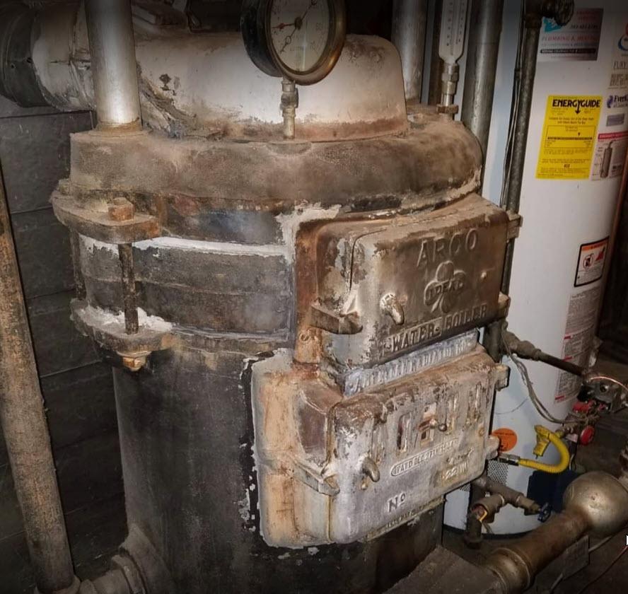 1914 ARCO boiler
