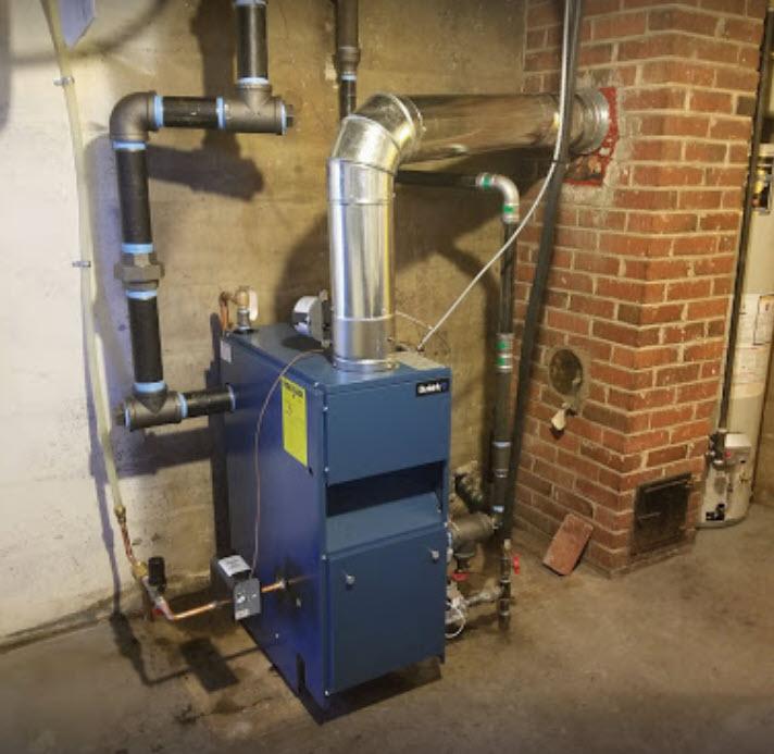 Dunkirk PSB4 boiler