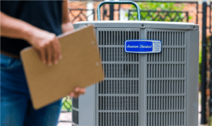 air conditioning service visit